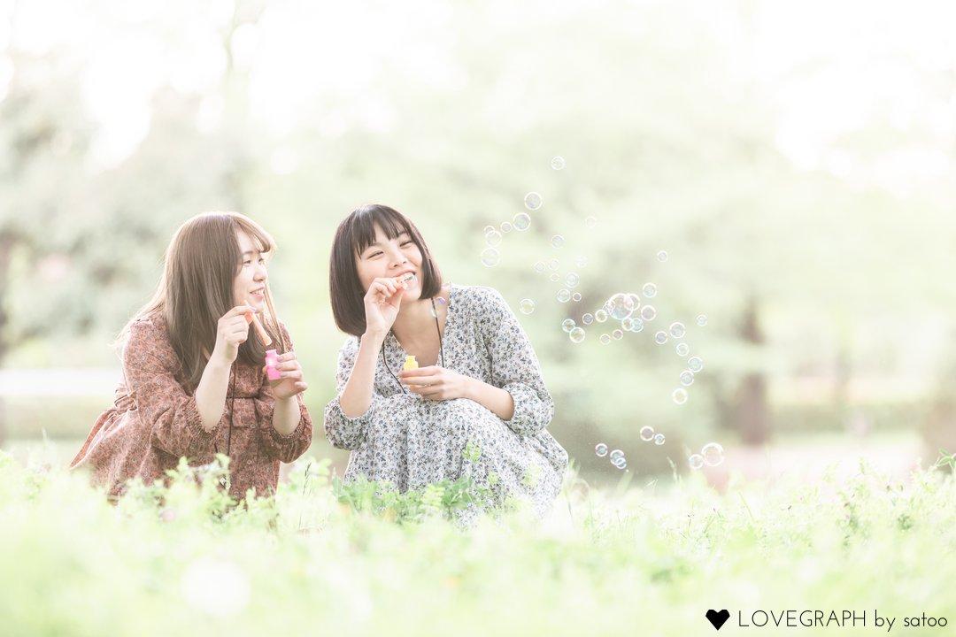 Idumi,Yuuka   フレンドフォト(友達)