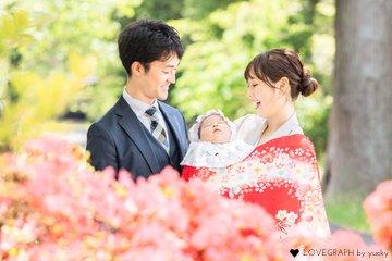 枇奈・お宮参り | 家族写真(ファミリーフォト)