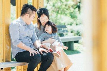 Matsuoka Fuminori,Eimi,Ema | 家族写真(ファミリーフォト)