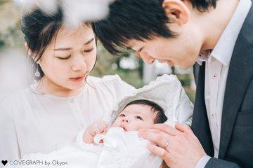 みどりお宮参り | 家族写真(ファミリーフォト)