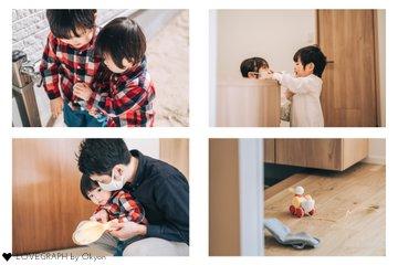YUITO&IORI | 家族写真(ファミリーフォト)