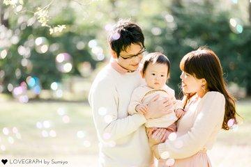 たっくん1歳誕生日 | 家族写真(ファミリーフォト)