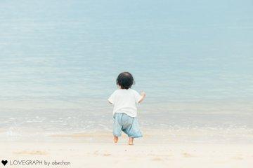 おさくと海 | 家族写真(ファミリーフォト)