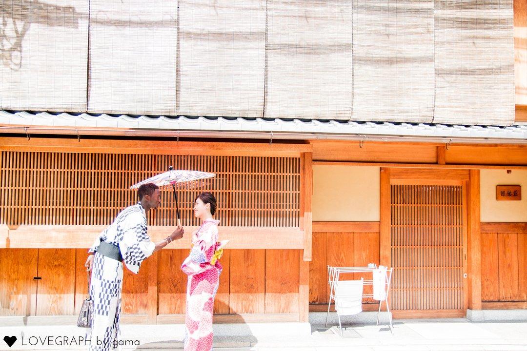 Sakurako × Mamadou | カップルフォト
