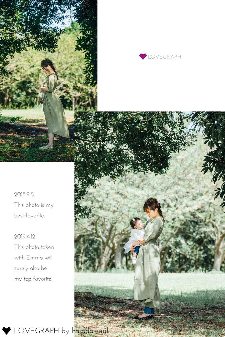 emma〜1/2birthday〜   家族写真(ファミリーフォト)