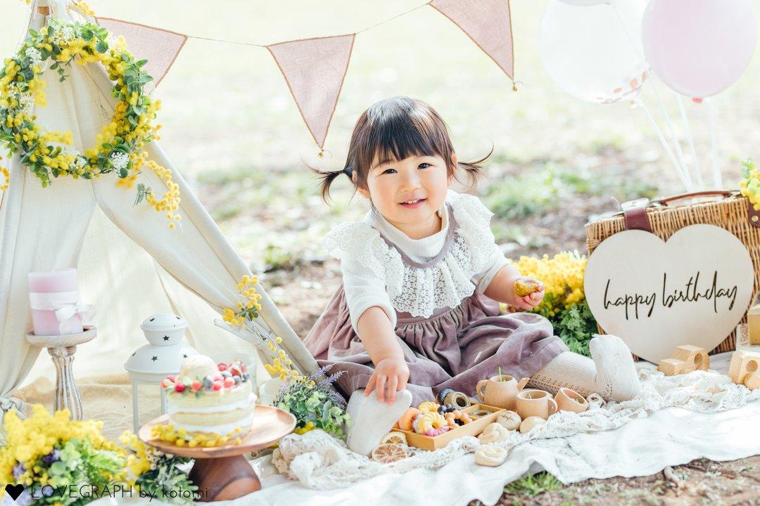 2nd birthday | 家族写真(ファミリーフォト)