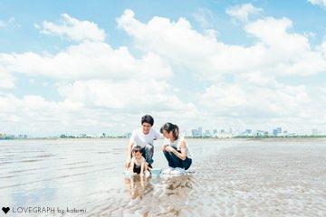 shusaku 1st birthday | 家族写真(ファミリーフォト)
