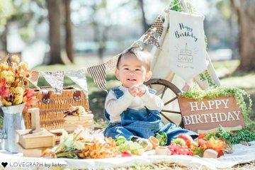 keita 1st birthday | 家族写真(ファミリーフォト)