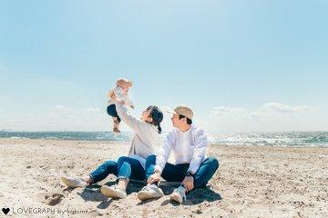 ITSUKI half birthday   家族写真(ファミリーフォト)