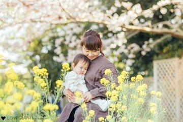 1st birthday Tsuku   家族写真(ファミリーフォト)