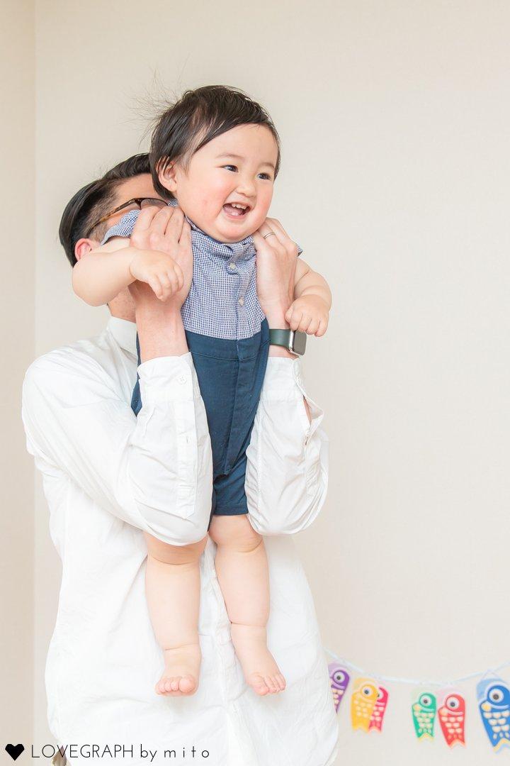 Mahiro こどもの日 | 家族写真(ファミリーフォト)