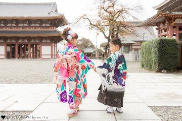 Noa & Touri ♡ 七五三   
