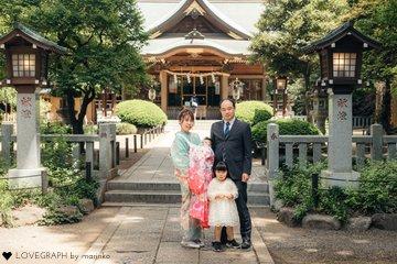 honokaお宮参り | 家族写真(ファミリーフォト)