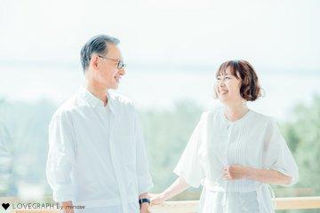 還暦&珊瑚婚式記念   夫婦フォト