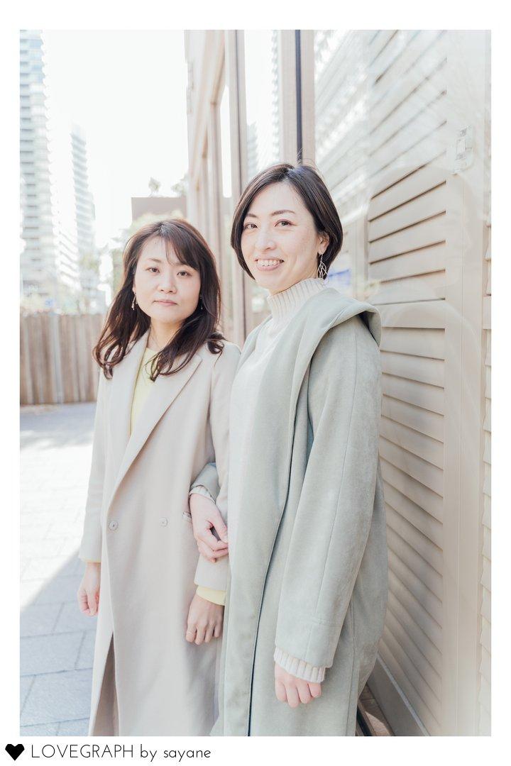 our first Lovegraph   フレンドフォト(友達)