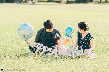 すず 2歳誕生日 | 家族写真(ファミリーフォト)