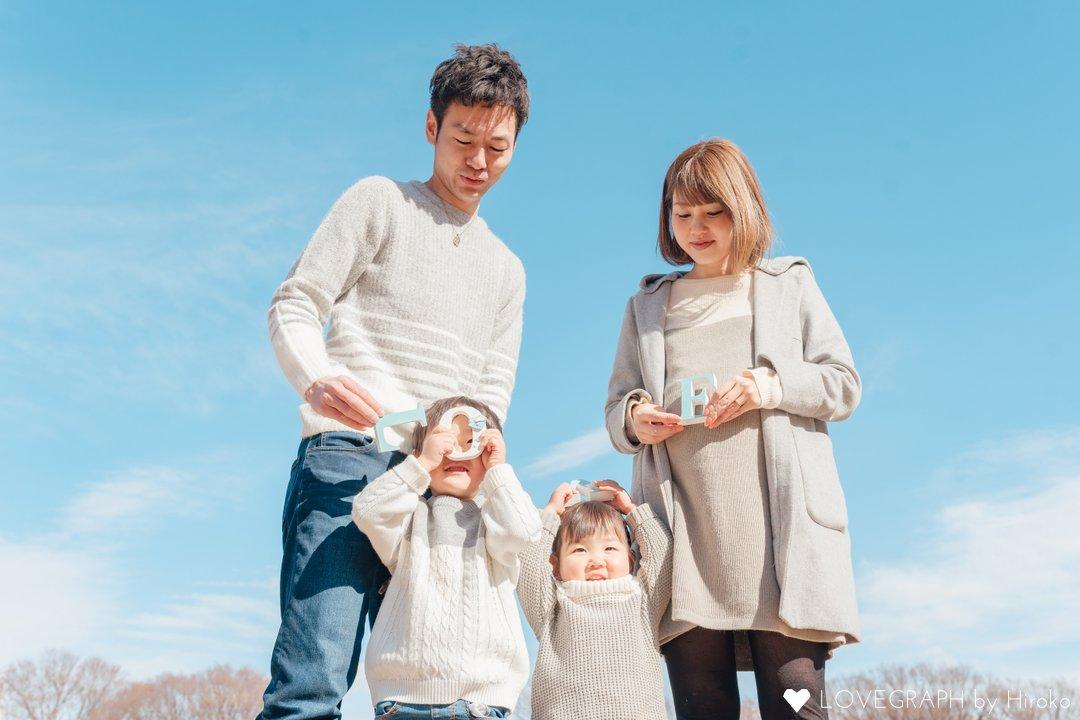 HANASAKU family | 家族写真(ファミリーフォト)