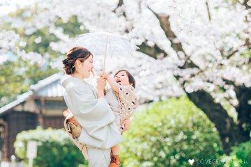 Aoi 七五三🌸   家族写真(ファミリーフォト)