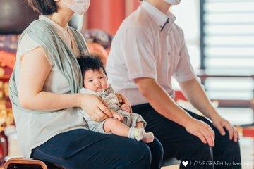 池上本門寺 お宮参り | 家族写真(ファミリーフォト)