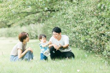 OOTSU 一歳記念日 | 家族写真(ファミリーフォト)