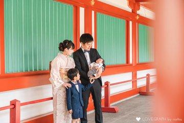kanataお宮参り | 家族写真(ファミリーフォト)