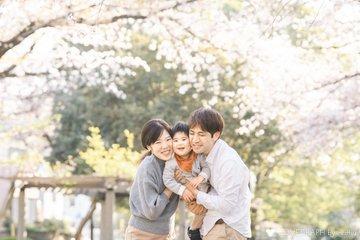 朋弥2歳誕生日 | 家族写真(ファミリーフォト)