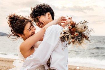happy wedding   夫婦フォト