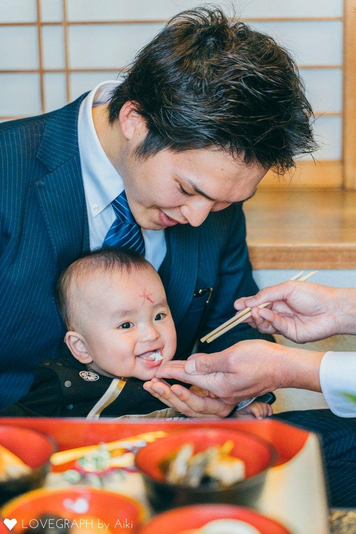 一心【お宮参り&お食い初め】 | 家族写真(ファミリーフォト)