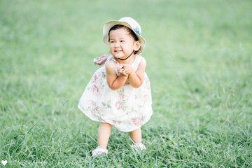 燈2歳誕生日♡新小岩公園 | 家族写真(ファミリーフォト)