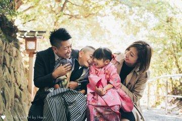 一誠&華奈×七五三 | 家族写真(ファミリーフォト)