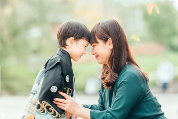 あお七五三 | 家族写真(ファミリーフォト)