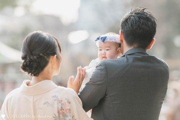 2021.2.12 お宮参り at 亀戸天神社 | 家族写真(ファミリーフォト)
