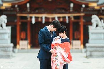 Aoi お宮参り | 家族写真(ファミリーフォト)