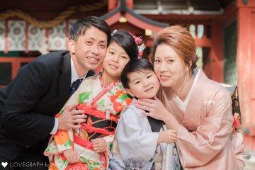 M &D 七五三 | 家族写真(ファミリーフォト)