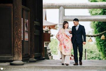 紡のお宮参り | 家族写真(ファミリーフォト)