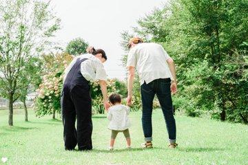 1才バースデーフォト | 家族写真(ファミリーフォト)