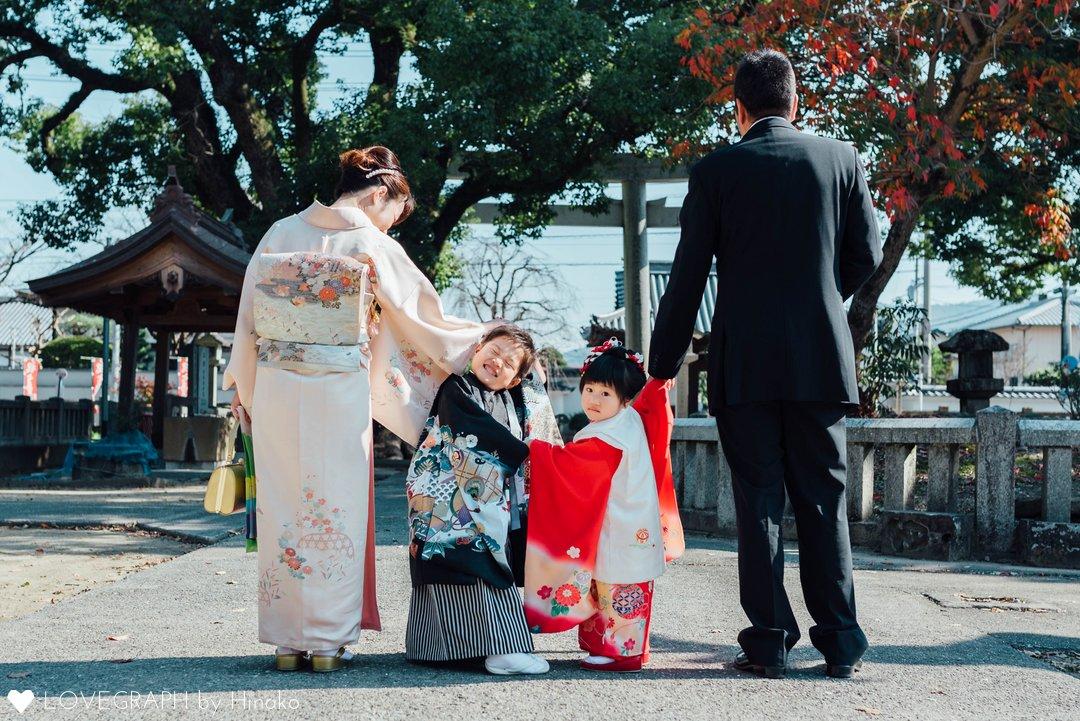 七五三 Sosuke×Minori   家族写真(ファミリーフォト)