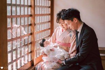 れなお宮参り   家族写真(ファミリーフォト)