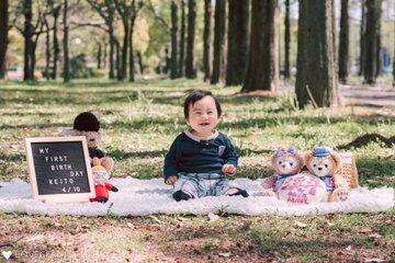 けいと1歳誕生日 | 家族写真(ファミリーフォト)