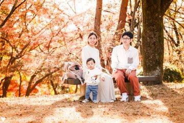 あきくん1歳はじめてのラブグラフ | 家族写真(ファミリーフォト)