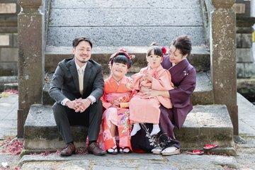 ENA×SANA 七五三 | 家族写真(ファミリーフォト)