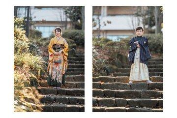 真由.湊の成人式 | 家族写真(ファミリーフォト)