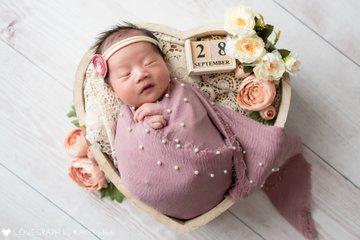SUZUNA newborn    家族写真(ファミリーフォト)