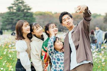 成人式家族写真2020 | 家族写真(ファミリーフォト)