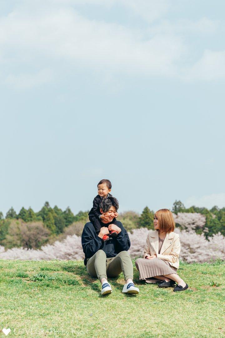 ゆづき2歳   家族写真(ファミリーフォト)