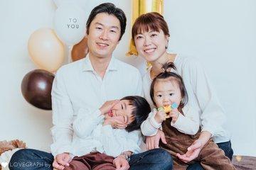 Tomo&Yuu | 家族写真(ファミリーフォト)