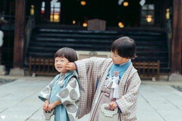 Ao × Sora 七五三 | 家族写真(ファミリーフォト)