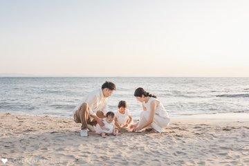 H family   家族写真(ファミリーフォト)