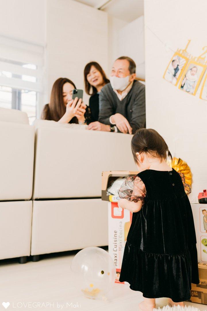 Tsugumi 1st birthday | 家族写真(ファミリーフォト)