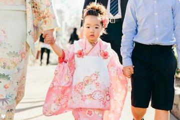 志穂3歳七五三 | 家族写真(ファミリーフォト)